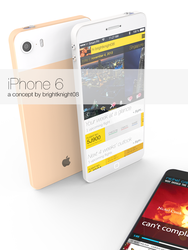iPhone 6 concept by BrightKnight