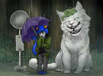 My Lusus Totoro by ThundersCry