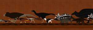 Hell Creek Dinosaurs revised revised revised by Paleop