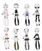 +Outfit Adoptable Mix 15 [CLOSED]  + by Hunibi