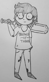Young Alice -or- Breaker of Things by Devin-Blackwater