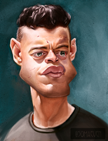 Rami Malek from Mr. Robot by ThatsSoMaeven