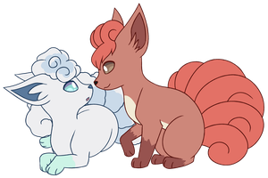 Vulpix by BloodBork