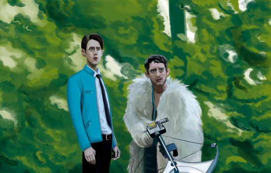 Dirk Gently's Holistic Detective Agency part 2 by black-hole-paradox