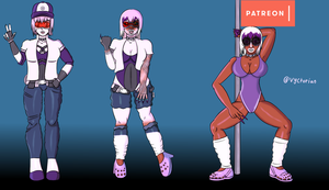 My Ganguro Academia -Patreon TF - by Vyctorian