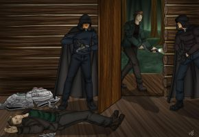 Sam and Dean captured by the Brotherhood 1 by Carnath-gid