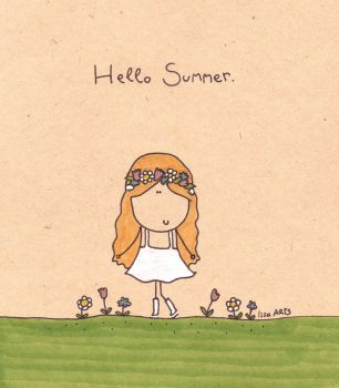 Hello Summer by IssaArts