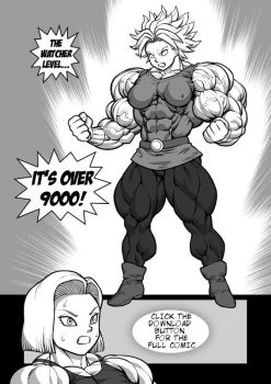 Dragonball Super Muscle Growth Comic by pokkuti by elee0228
