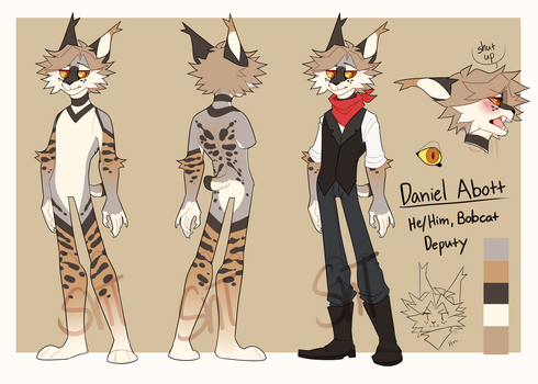 Daniel Reference 2.0 by Sweet-n-treat