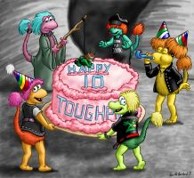 Tough Fraggles by Negaduck9