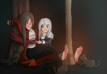 Tickle the witch! by TheHunter1338