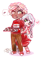 ALIxCECIL COLLAB - I WANT COOKIES by alpacasovereign