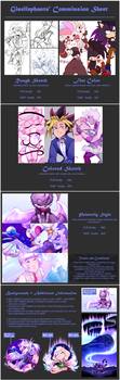Commissions | Status: CLOSED by gisellephants