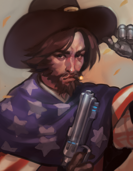 MCCREE by kakimari