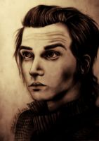 Mikey Way and his poker face by MichellyMe