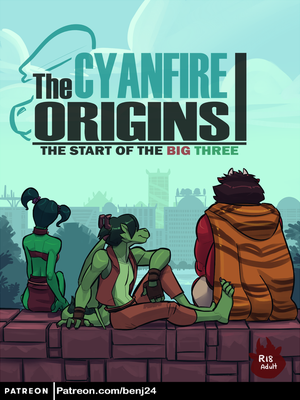 The Cyanfire Origins I (Cover) by benj24