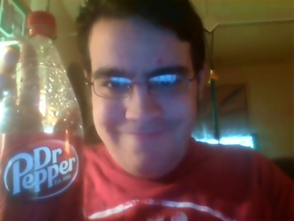 Brainy Specs and Dr. Pepper by SpiderTrekfan616