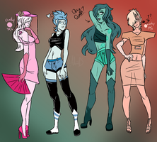 [RGC] Gem Adopts (CLOSED) by Taby-CrazyKat