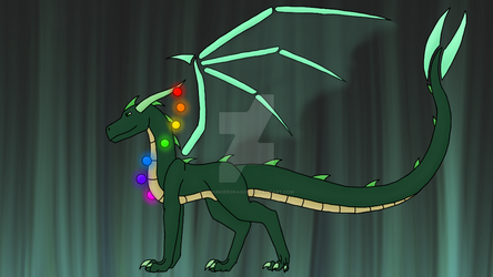 Auroxis (not sure if im keeping that name) by AThunderDragon