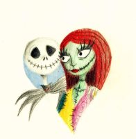 Jack and Sally by Casey-Dream-Theater