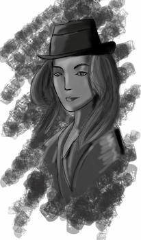 Random Lady Top Hat by KKal