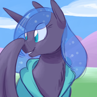 03-19-16 Luna's Day Out by goattrain