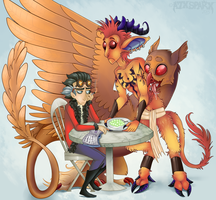 Not at the table, please. by A7XSparx