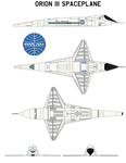 Orion III Spaceplane  2001 A Space Odyssey by bagera3005