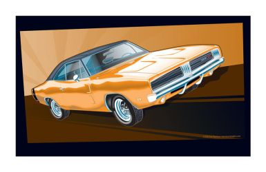 69 Dodge Charger by MercenaryGraphics