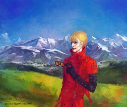 Vash the Stampede. Trigun. by CHURIEQ