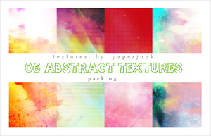 Textures Pack 05: Abstract by PaperJunk