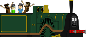 Our biggest friend, Otis the Train by Belinda-Emily-Back
