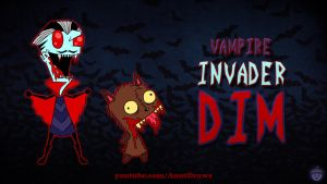 Vampire Invader Dim by AnutDraws