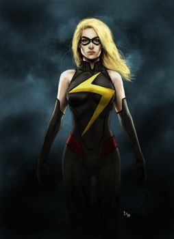 Ms Marvel by x-men-pro