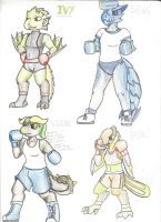 Dcheese Classic: Young Monster Boxers #1 by Dressingcheese