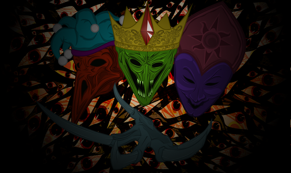 Three out of four kingdoms eyes by aborrozakale