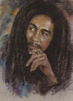 Bob Marley by monkeydawang