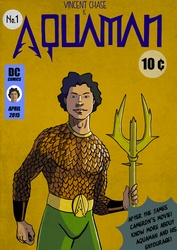 Vicent Chase is AQUAMAN! by AxelBorsch