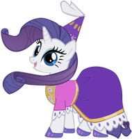 Princess Rarity by pageturner1988