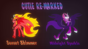 Re-Marked Sunset and Twilight by BBBHuey