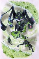 Power Construct -Zygarde by listlessscrawls