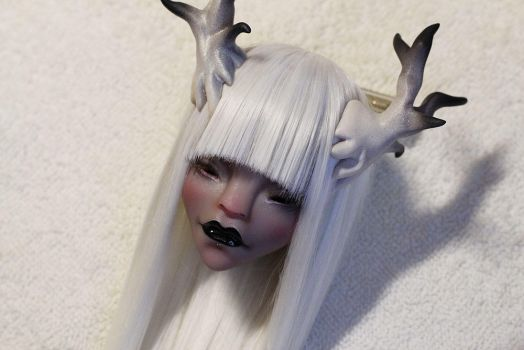 Winter faun by Misterminoudolls