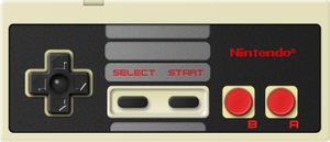 [Photoshop 7.0] Real size NES Controller by MaxiGamer