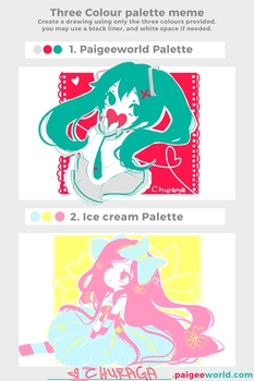 Color Palette Meme Challenge by Churaga