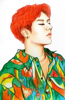 colorful Yugyeom by timii95