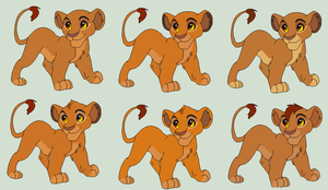 [CLOSED] Mufasa x Sarabi Cubs by QueenMelody