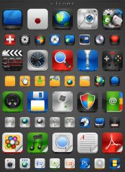 i Icons for Mac by treetog