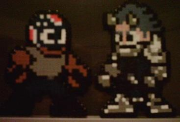Perler Booyah and Me by Brainfreeze01