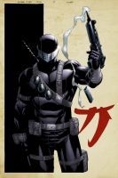 SnakeEyes 4 Cover by spidermanfan2099