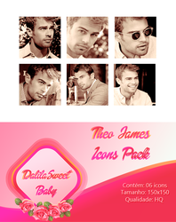 Theo J. Icons Pack by dalilasweetbaby